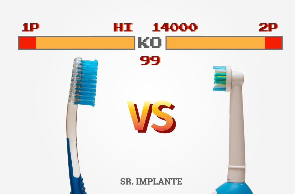 Quando procede à escovagem dos seus dentes, deve refletir qual será a escova mais eficiente, para o seu caso em concreto. De entre a escova tradicional vs escola elétrica. Independentemente da escova que use, o essencial é proceder à higienização da sua boca e nomeadamente dos nossos dentes, de forma a prevenir caries ou outro tipo de doenças orais. Uma boa higiene dentária depende da conjugação de inúmeros fatores, tais como, o número de vezes que lava os dentes, a duração com que o faz, a técnica utilizada e a escova que usa. São todos elementos muito importantes. A eficácia da escovagem com uma escova tradicional vs Escova elétrica De forma a conseguir a obtenção de uma boa higiene dentária, sugerimos que opte pela melhor escova, sendo que, é importante saber qual é a mais eficiente, quando comparamos a escova tradicional vs escola elétrica. Qual das duas escovas é mais eficiente na tarefa de limpar eficazmente a sua dentição? Vários estudos têm demonstrado que as escovas elétricas com um movimento de rotação e oscilação são mais eficazes que as escovas tradicionais. Durante a escovagem, o cabeçal redondo da escova elétrica emite pulsações para eliminar a placa e roda para a remover, sendo muito eficiente nessa tarefa. Apesar da sua alta eficiência, se as escovas tradicionais forem utilizadas da forma recomendada, estas tão são bastante eficazes. Na hora de optar entre uma escova tradicional vs escola elétrica, sugerimos que discuta com o seu médico qual a melhor opção, atendendo as suas necessidades concretas. Os vários benefícios que as escovas elétricas possuem que as escovas manuais não têm Quando comparamos uma escova tradicional vs escola elétrica, há sempre benefícios que só são conseguidos se optar por uma escova elétrica, tais como: • As escovas elétricas possuem um temporizador para contabilizar com precisão o tempo recomendado de escovagem, garantindo que todas as zonas da boca recebem a devida atenção para uma limpeza superior. • Com a escova elétrica